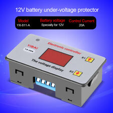12Vdc Battery Low Voltage Cut off Switch On Protection Undervoltage Controller