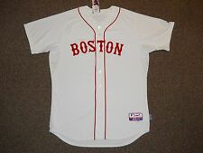 "Boston Red Sox Cool Base Authentic Jersey sz 48 Majestic w/ tags ""BOSTON STRONG"""
