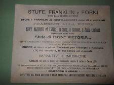 Busta Stufe Franklin e Forni della Casa Becchi Forlì  (cc50) ^