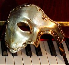 Phantom Mask with OVERNIGHT Metro Delivery -Made in Italy - Quality Silver Leaf