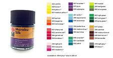 Marabu Silk Paint 50ml -Light Grey - 278 - HIGH QUALITY