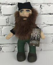 "Duck Dynasty Willie Robertson Plush Doll 14"" A&E Duck Hunter Stuffed 2013 NEW"