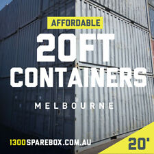 20FT CHEAP 8'6 standard shipping containers | AFFORDABLE stock - Melbourne