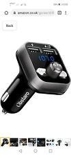 FM Transmitter Car, Obstaro Bluetooth Fm Transmitter, Wireless Car Radio...