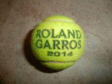 """COLLECTOR - BALLE DE TENNIS OFFICIELLE """"ROLAND GARROS 2014"""" (KEVIN ANDERSON)"""