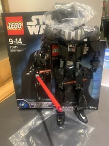 Lego Star Wars Darth Vader Buildable Figure 75111 With Unused Head & Cape 100%