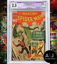 Amazing Spider-Man #2 CGC Restored 2.5 (Marvel)