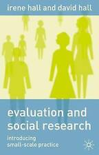 Evaluation and Social Research: Introducing Small-Scale Practice-ExLibrary