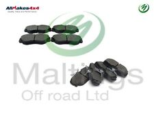 range rover p38 front + rear brake pads range rover brakes sfp500150 sfp500130