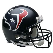 HOUSTON TEXANS RIDDELL NFL FULL SIZE AUTHENTIC PROLINE FOOTBALL HELMET
