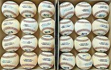 2 dozen used baseballs (all leather, MILB baseballs)