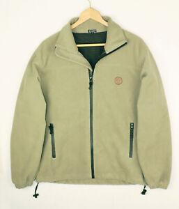 GAUPA Olive Green Polar Fleece Lined Mens Jacket Size XS
