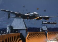 WW2 Aviation art post card The Dambusters operation chastise  Maltby  617 sqd