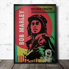 Cartel de Bob Marley Reggae Jamaica Lee cero Perry Augustus Pablo Dennis Brown