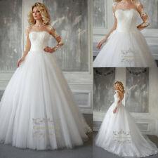 Magic French lace wedding dress Bateau Illusion Long Sleeves bridal gown 2018