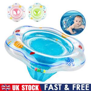 Baby Swimming Ring Inflatable Float Seat Toddler Kid Water Pool Swim Aid Toy UK