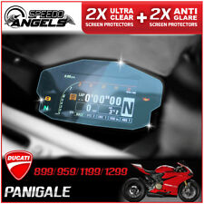 4 x DUCATI Panigale 899,1199,959,1299 Instrument / Dashboard / Screen Protector