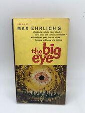the Big Eye Max Erlich 1958 1st Bantam Vintage Sci Fi PB Dystopia World Gift