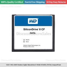 SSD-C16G-4300 Western Digital SiliconDrive II 16GB ATA/IDE (PATA) CompactFlash