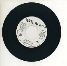 JAY KINNARD 45 RPM Promo Record  YOUR LOVE / GAME OF CARDS Unplayed Mint! 1976