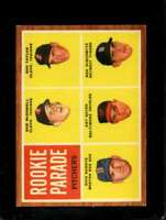 1962 TOPPS #591 ROOKIE PARADE MCDOWELL NM (RC) SP NICELY CENTERED *SBA7400