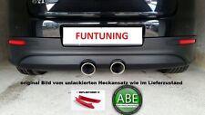 Golf 5 R32 Sportauspuff Heckschürze Heckansatz Auspuff VW V GTI GT TSI TDI ED30