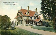 A Closeup View of the John Hobart Warren Mansion, Hoosick Falls Ny
