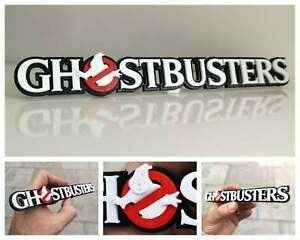 Ghostbusters 3D logo / shelf display / fridge magnet - movie collectible