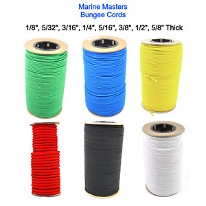Marine Masters Bungee Cord Marine Grade Heavy Duty Shock Polyester Stretch Rope
