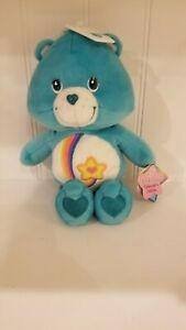 """Thanks a Lot Bear 10"""" Care Bears Collectors Ed Series  New with tags 2003 TCFC"""