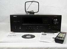 Denon AVR-1912 Integrated Network Audio Visual Stereo Receiver bundle w/Remote