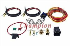 Champion WR 180 Degree 40amp Electric Fan Relay Kit for Single or Dual Fans