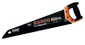 "Bahco 2600-22-XT-HP ERGO Superior 9TPI  22""/550mm Medium Cut Wood Handsaw Saw"