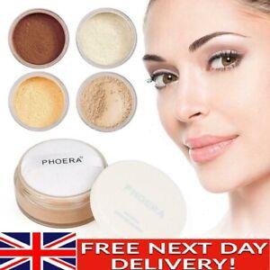 PHOERA® No Filter Setting Loose Powder Bare Face Translucent Foundation Makeup