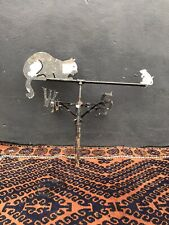 More details for vintage mid/late 20th century reclaimed painted cat & mouse weather vane salvage
