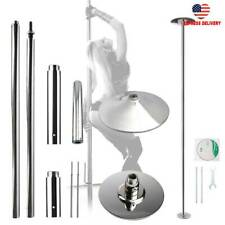 45mm Portable Stainless Steel Dance Pole Spinning Static Dancing Fitness U.S.A