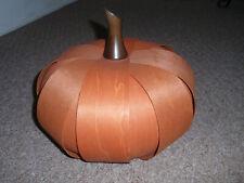 "Longaberger - ""Spice Large Pumpkin"", New!"