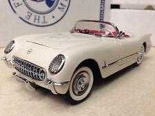 1/24 Franklin Mint White 1953 Corvette Convertible B11KC31 Chevy Chevrolet