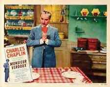 Monsieur Verdoux 10 comprimidos A3 cartel impresión