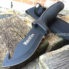 """9"""" Gut Hook Hunting Skinning Camping Military Knife"""