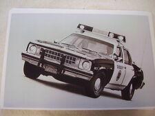 1976 CHEVROLET  NOVA POLICE CAR   11 X 17  PHOTO  PICTURE