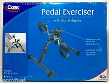 Carex Digital Pedal Exerciser for Arms & Legs P55400 Adjustable Resistance NEW