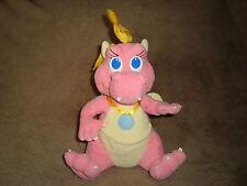 "Dragon Tales Cassie Pink Dragon Plush 9"""
