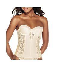 Dominique 8949 Ivory Longline Bra/Bustier/Corset Bridal Lingerie Size 36 D BNWOT