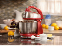 Hamilton Beach 6 Speed  Stand Mixer Kitchen Baking Stainless Baking Bread Dough