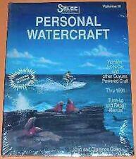 Seloc Personal Watercraft Repair Manual 3340