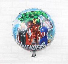 """18"""" Avengers Super-héros BALLON Plat Hélium Fête Anniversaire enfants baloon"""