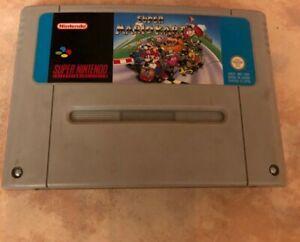 Super Mario Kart Snes (super Nintendo)
