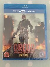 Dredd (Blu-ray 3D + Blu-ray) [DVD] Sealed!
