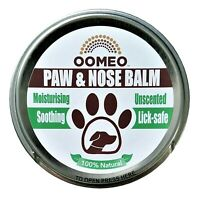 Vegan Dog Dry Crusty Nose Cracked Paw Balm Cream Butter Pet Oatmeal Hemp 50ml